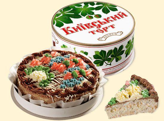 Фото киевского торта и цену