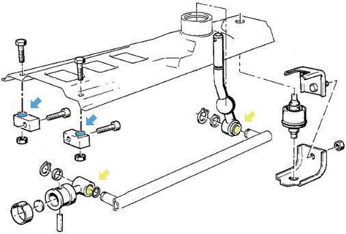 Устраняем люфт кулисы КПП,как сделать так чтобы рычаг КПП  не болтался