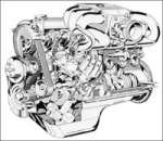 Двигатель BMW M60 M20