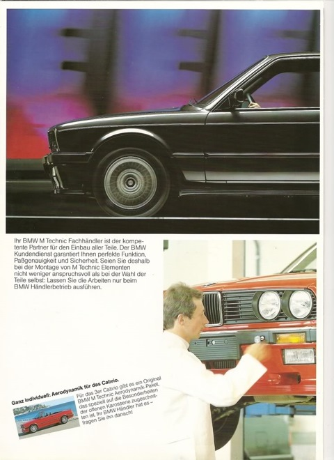 BMW E30 325iS MTechnic 1